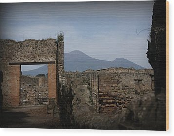 Pompei Wood Print by Kevin Flynn