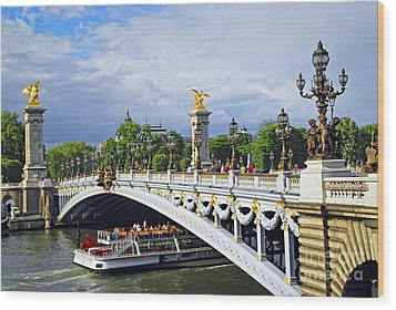 Pont Alexander IIi Wood Print by Elena Elisseeva