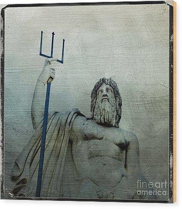 Ponte Sant'angelo. Piazza Del Popolo. Rome Wood Print by Bernard Jaubert