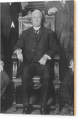 Porfirio D�az 1830-1915, President Wood Print by Everett