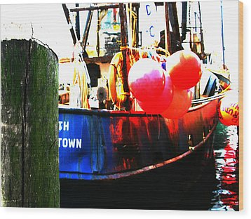 Wood Print featuring the photograph Port Of Galilee Number 1 by Lon Casler Bixby
