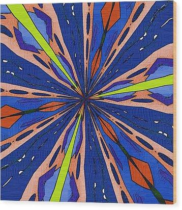 Portal To The Past Wood Print by Alec Drake