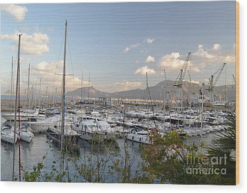 Wood Print featuring the photograph Porto Arenella by Kathleen Pio