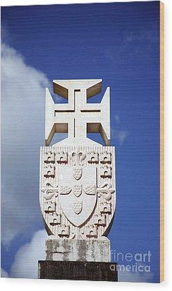 Portuguese Symbology Wood Print by Gaspar Avila