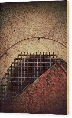 Post Industrial Wonderland Wood Print by Odd Jeppesen