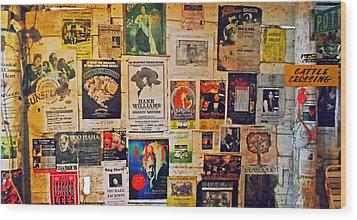 Poster Board Wood Print by Cyryn Fyrcyd