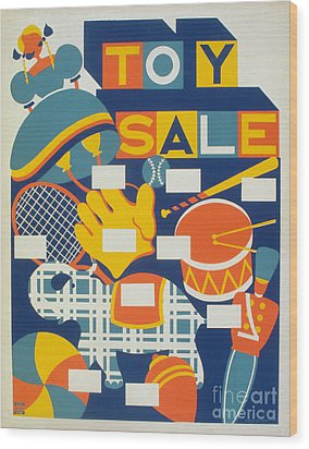 Poster: Toys, C1940 Wood Print by Granger