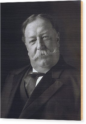 President William Howard Taft Wood Print by International  Images