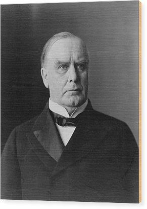 President William Mckinley Wood Print by International  Images