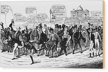 Presidential Campaign, 1824 Wood Print by Granger
