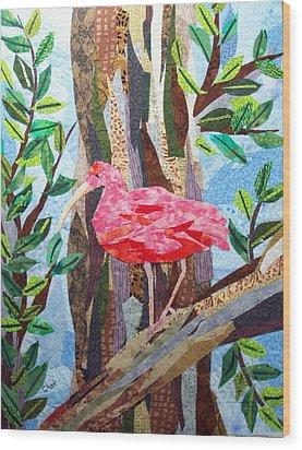 Pretty In Pink Wood Print by Charlene White