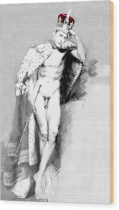 Prince William Crown Jewels Wood Print