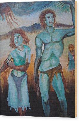 Princes And Zeus Wood Print by Prasenjit Dhar