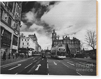 Princes Street Edinburgh Scotland Wood Print by Joe Fox