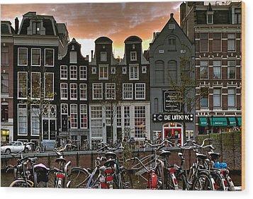 Prinsengracht 458. Amsterdam Wood Print