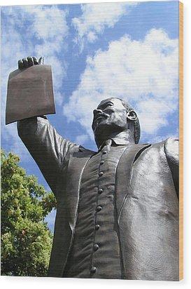 Proclamation Of Emancipation Wood Print by Sarah Broadmeadow-Thomas