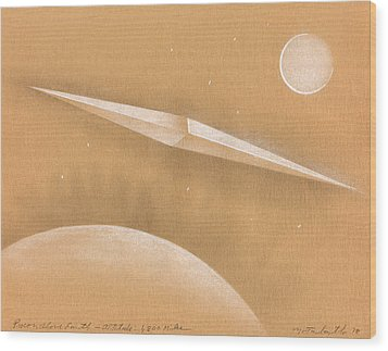 Procon Above Earth Wood Print by Albert Notarbartolo