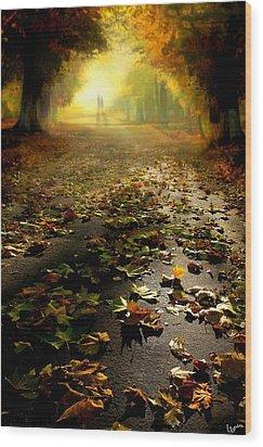Promenade Wood Print by Igor Zenin