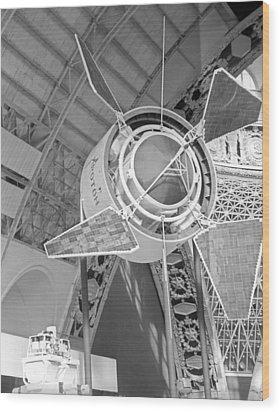 Proton 1 Exhibition Display, 1967 Wood Print by Ria Novosti