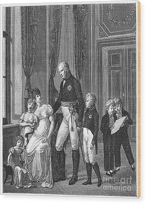Prussian Royal Family, 1807 Wood Print by Granger