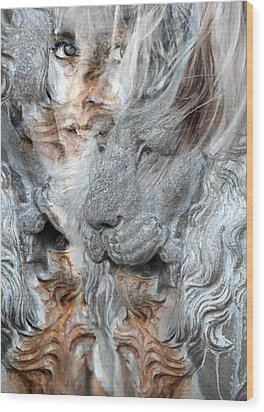 Psyche Wood Print by Elizabeth Hart