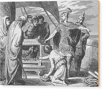 Publius Claudius Pulcher And The Sacred Wood Print by Photo Researchers