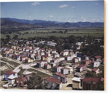 Puerto Rico. Ponce, Puerto Rico, 1941 Wood Print by Everett