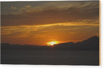 Wood Print featuring the photograph Puerto Vallarta Sunset by Marilyn Wilson