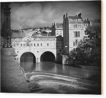 Pulteney Bridge Wood Print