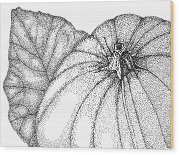 Pumpkin Pie Wood Print