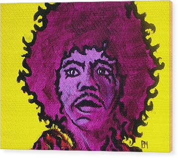 Purple Haze Day Wood Print by Pete Maier