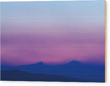 Purple Haze Wood Print by Kevin Bone