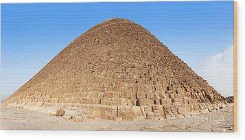 Pyramid Giza. Wood Print by Jane Rix
