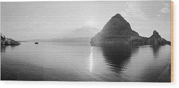 Pyramid Lake Wood Print