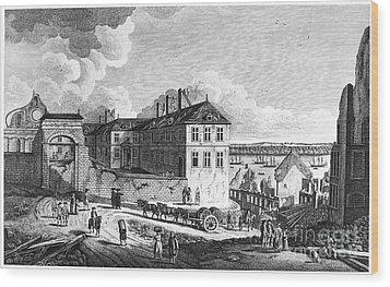 Quebec: Ruins, 1761 Wood Print by Granger