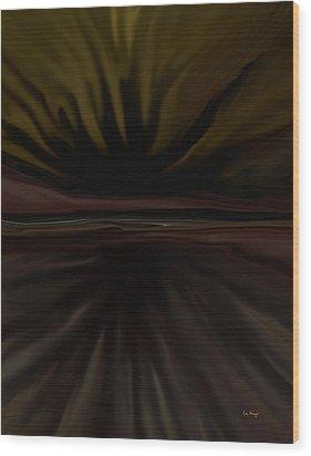 Radiant 1 Wood Print by Tim Stringer
