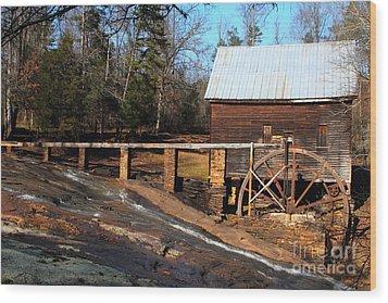 Ragsdale Mill Wood Print by Rick Mann
