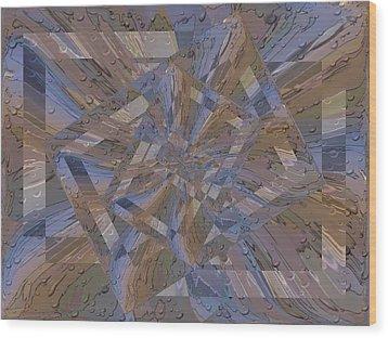Rainy Day Portal 3 Wood Print by Tim Allen