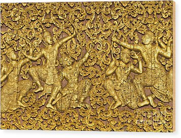 Wood Print featuring the photograph Ramayana by Luciano Mortula