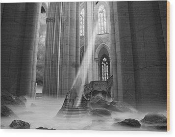 Rapture Wood Print by Keith Kapple