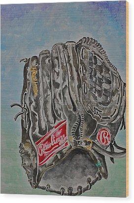 Rbg 36 B Ken Griffey Jr. Wood Print by Jame Hayes