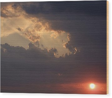 Reach For The Sky 5 Wood Print by Mike McGlothlen