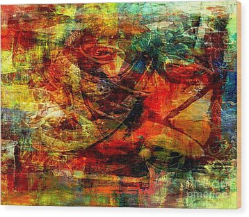 Recall - Rappel  Wood Print by Fania Simon