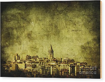 Recollection Wood Print by Andrew Paranavitana