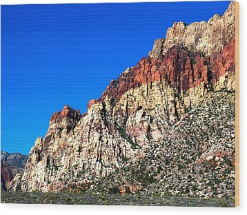 Red Rock Canyon 65 Wood Print by Randall Weidner