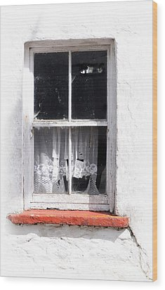 Red Sill Wood Print by Marion Galt