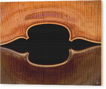 Wood Print featuring the photograph Reflected Corners by Endre Balogh