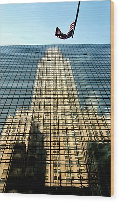 Wood Print featuring the photograph Reflection by Michael Dorn