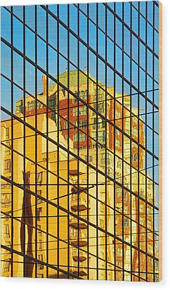 Reflections 1 Wood Print by Mauro Celotti