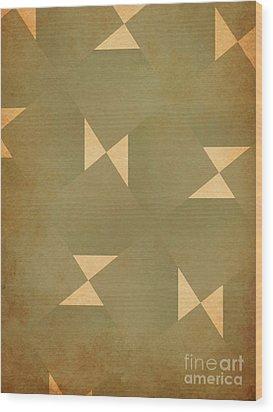 Reflections Wood Print by J Burns